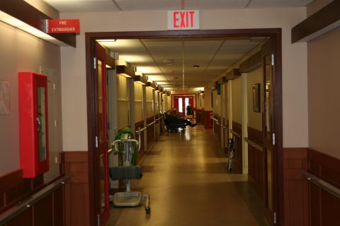 The Pines Olean Hallway